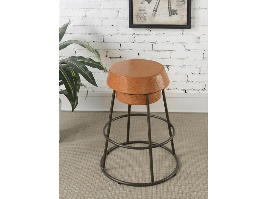 Light Brown Counter Height Stools Set Of 2 Shop For