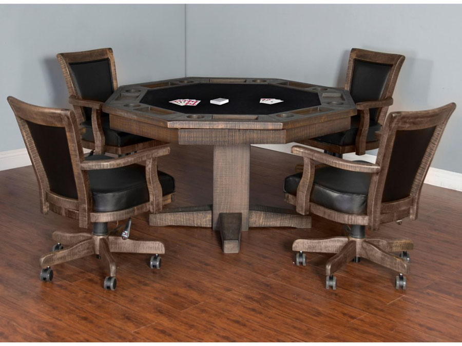 Homestead Game Dining Table Set