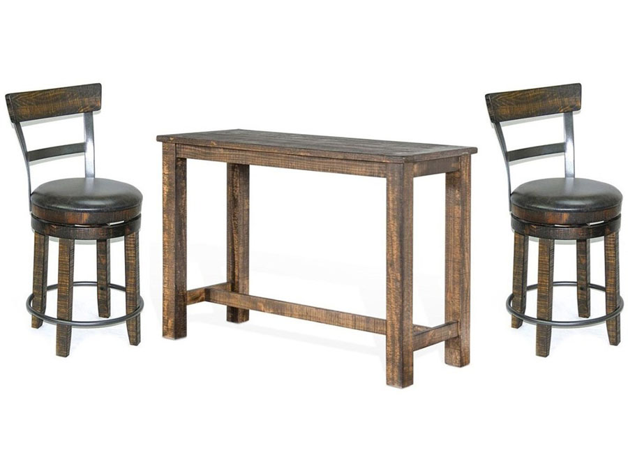 Rectangular Pub Table Set