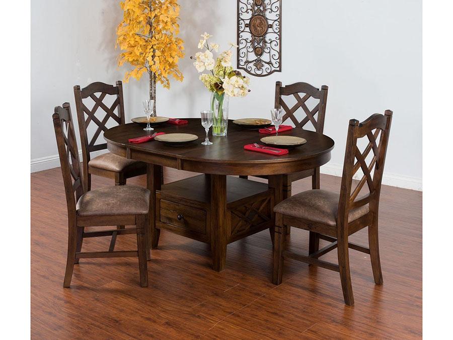 Savannah Oval Erfly Leaf Table Set