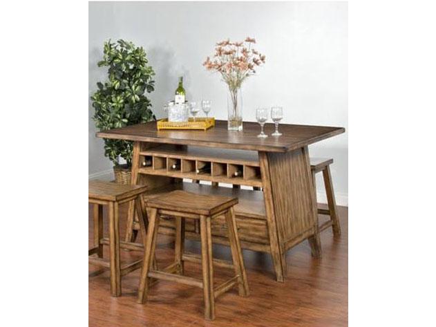 Cornerstone Table W/ Storage Base