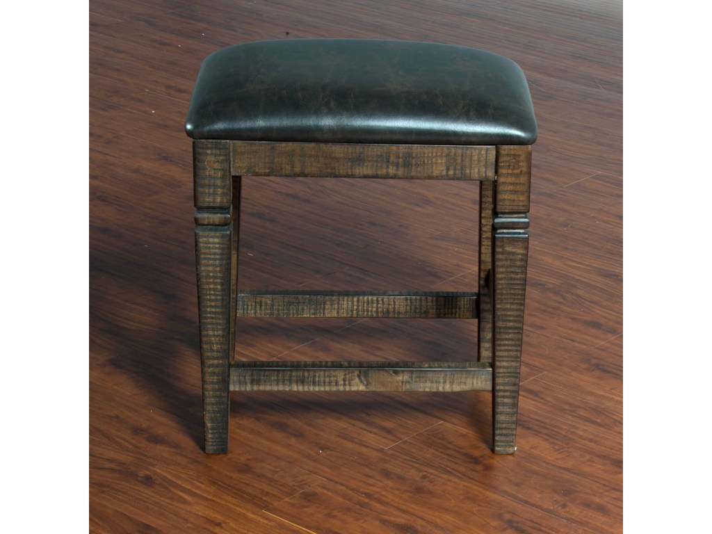 Homestead 2pcs 24 Quot Backless Stool In Tobacco Leaf Shop