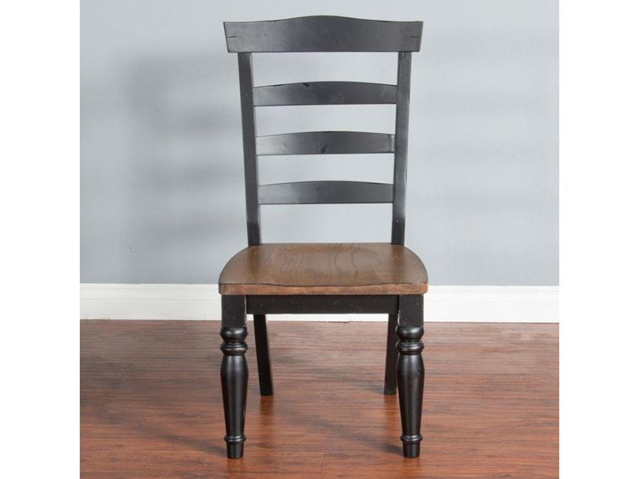 Bourbon 2Pcs Ladderback Chair ...