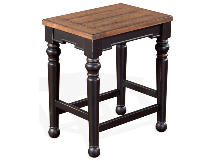 Bourbon Country 2pcs 24 Quot H Backless Stool W Wood Seat