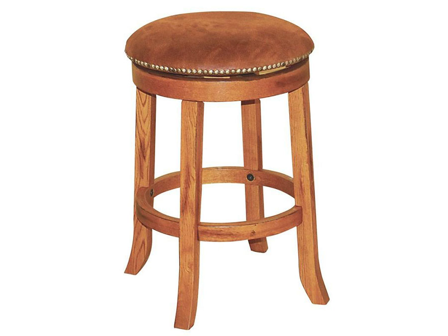 2pcs 24 H Sedona Swivel Stool W Cushion Seat Shop For