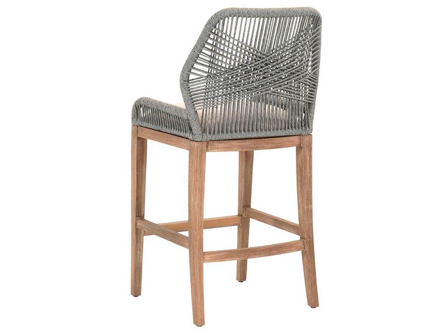 Wicker Loom Platinum Barstool Shop For Affordable Home