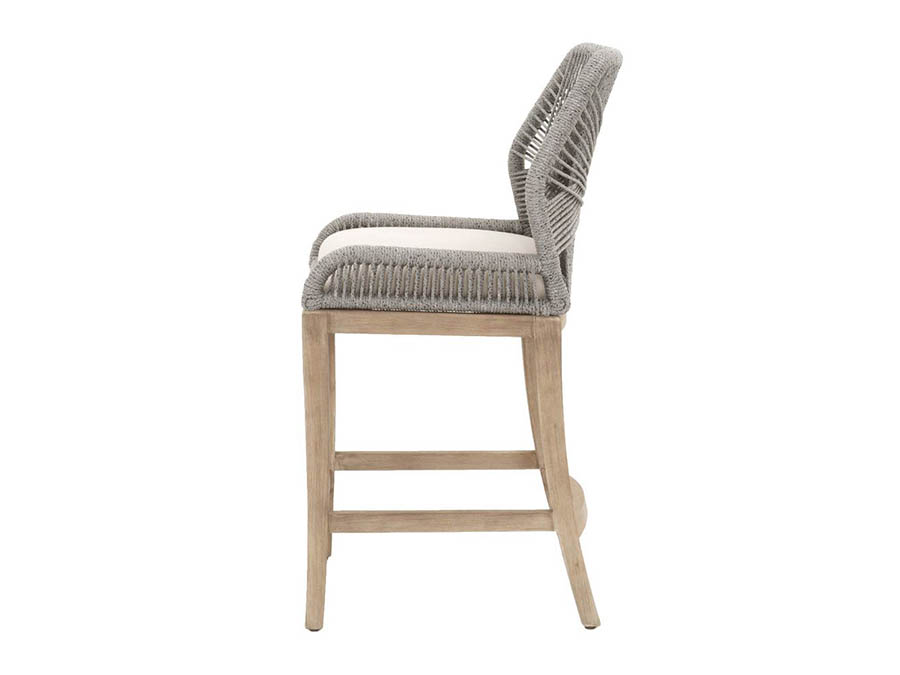 Wicker Loom Platinum Counter Stool Shop For Affordable