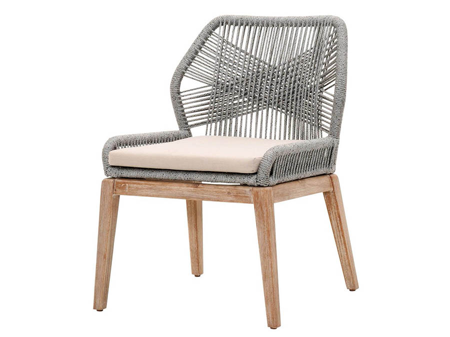 Wicker Loom 2pcs Dining Chair Shop For Affordable Home