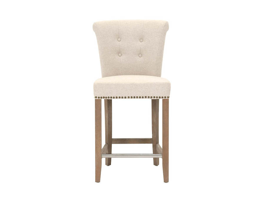 Luxe Stone Wash Counter Stool Shop For Affordable Home