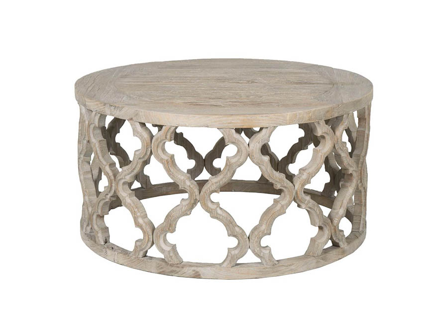 Bella Antique Clover Coffee Table Shop For Affordable