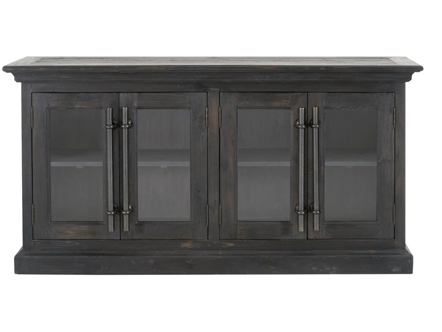 Bastille Black Wash Sideboard