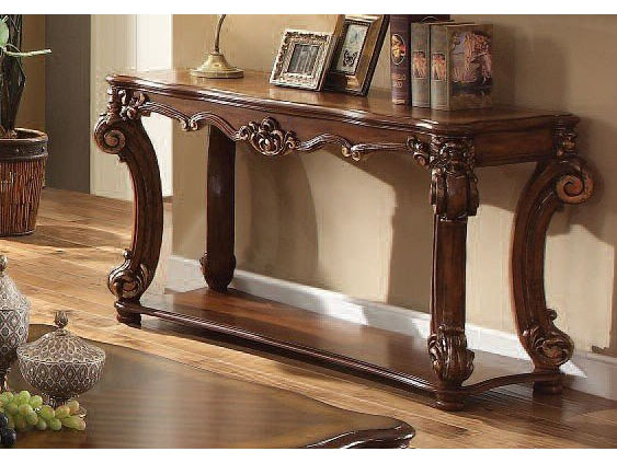 vendome cherry sofa table shop for affordable home furniture rh muuduufurniture com cherry sofa table with glass top cherry wood sofa table
