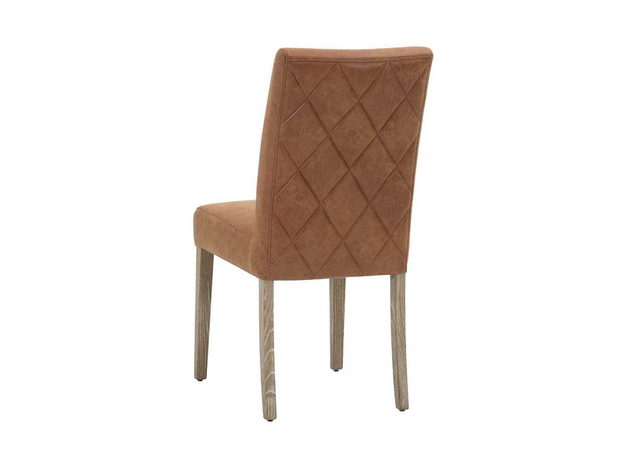 Patina Lattice 2pcs Chestnut Dining Chair Shop For