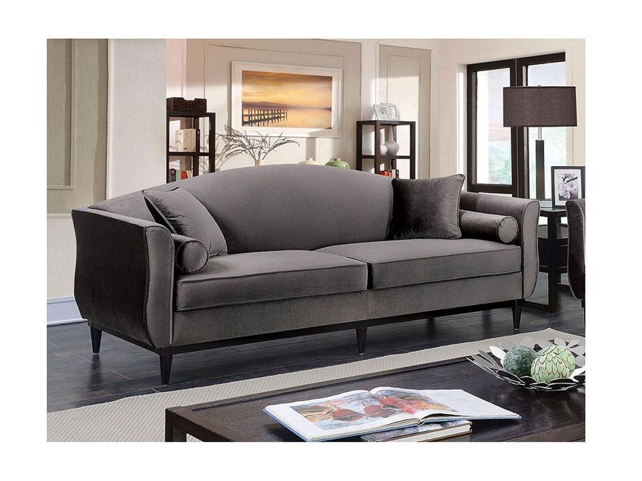 Karina Gray Sofa Set