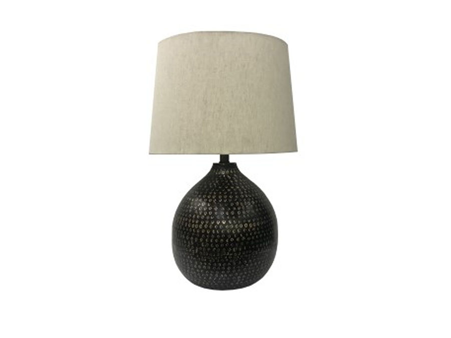 Maire metal table lamp in blackgold finish shop for affordable maire metal table lamp in blackgold finish aloadofball Gallery