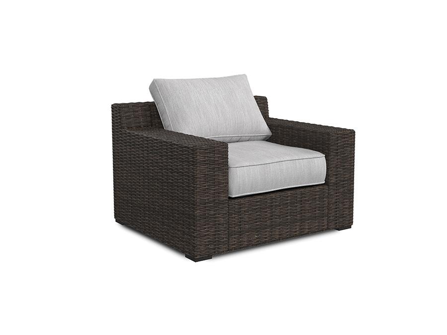 alta grande lounge chair w cushion shop for affordable. Black Bedroom Furniture Sets. Home Design Ideas