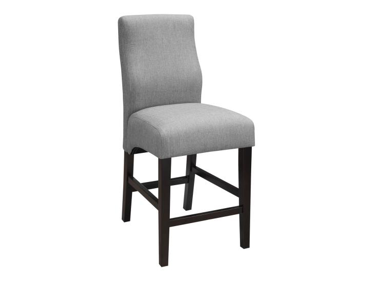 Grey Fabric Counter Height Stool Shop For Affordable