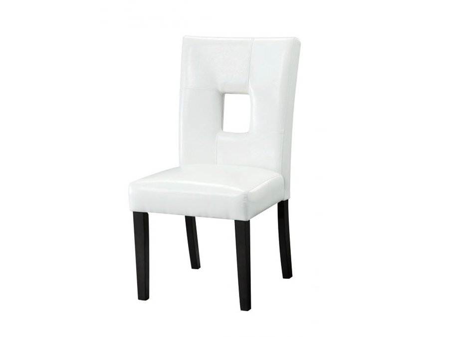 2pcs White Dining Side Chair