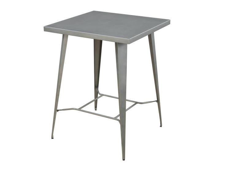 Dining Table Light Height: Light Gunmetal Counter Height Dining Set