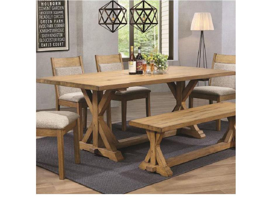 Super Vintage White Oak Dining Table Interior Design Ideas Grebswwsoteloinfo