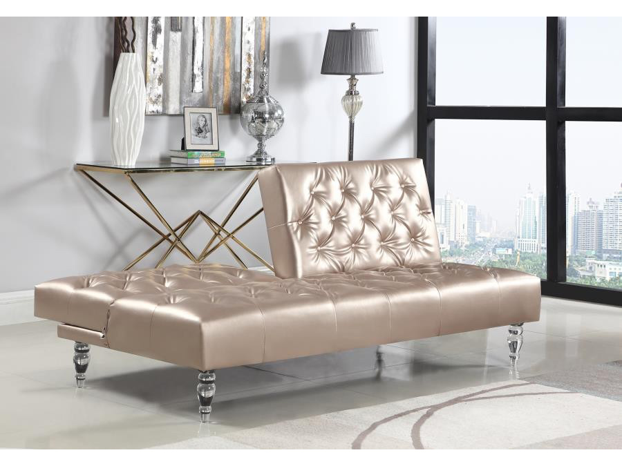 Delicieux Rose Gold Sofa Bed