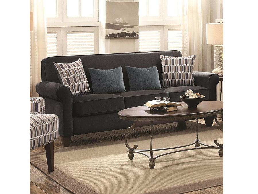 Attractive Graphite Sofa #9 - Graphite Sofa