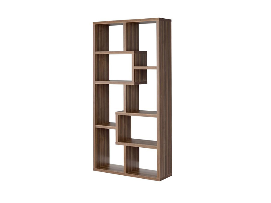 8 Shelf Staggered Bookcase Shop For Affordable Home