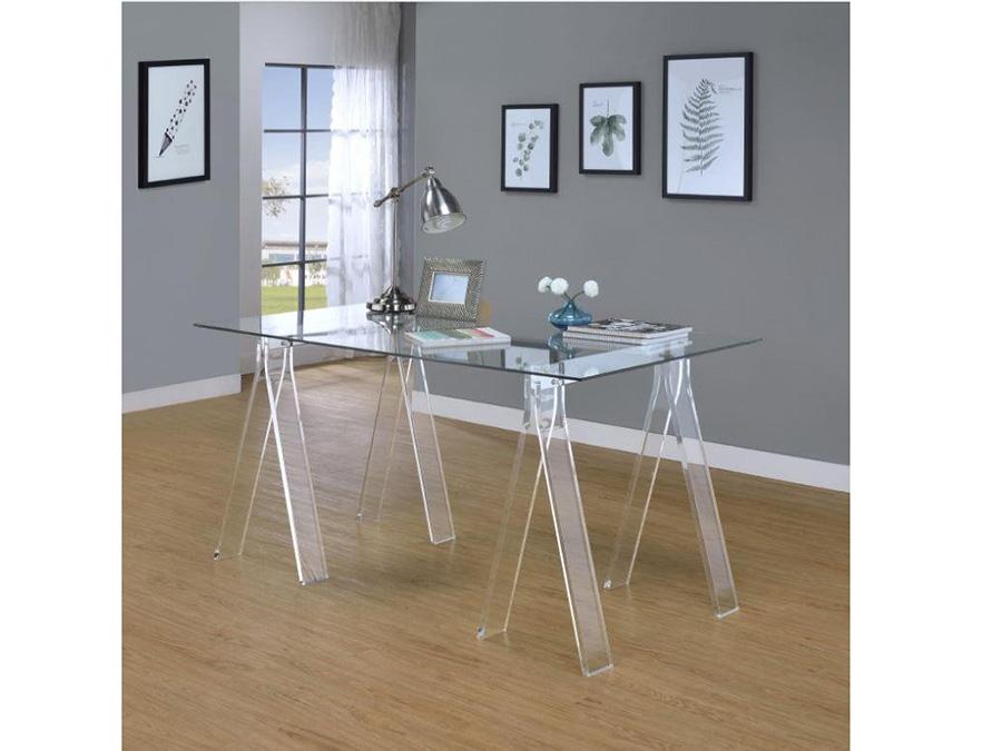 acrylic office desk. Acrylic Writing Desk Office O