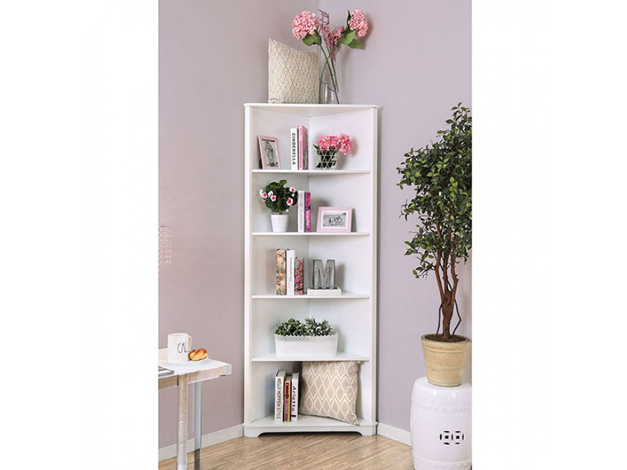 Superieur Rockwall White Bookshelf