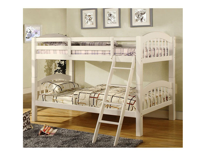 Coney Island White Twin/Twin Bunk Bed With Trundle - Shop for ...