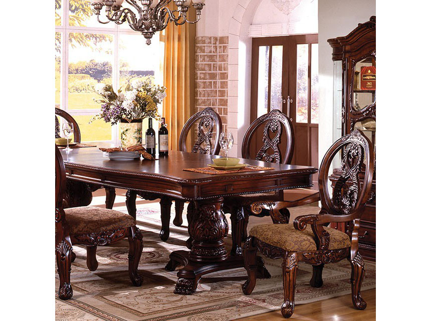 tuscany i formal dining table shop for affordable home furniture decor outdoors and more. Black Bedroom Furniture Sets. Home Design Ideas