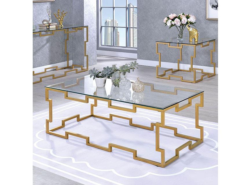 Josephine Gold Coffee Table