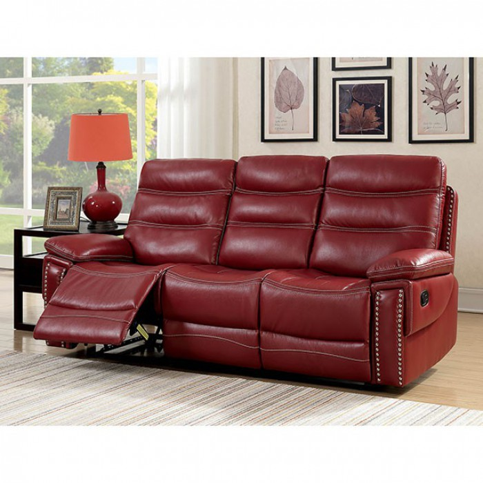 Captivating Cavan Red Sofa