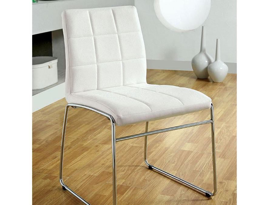 Oahu 2pcs White Side Chair Shop For Affordable Home