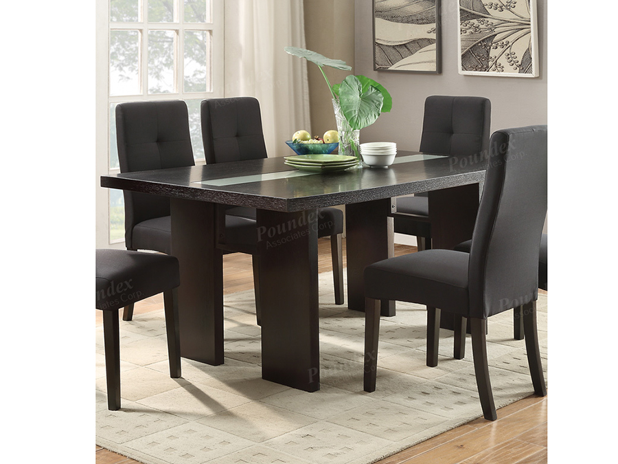 2b4924abaef4c Wood Dining Table In Dark Brown - Shop for Affordable Home Furniture ...