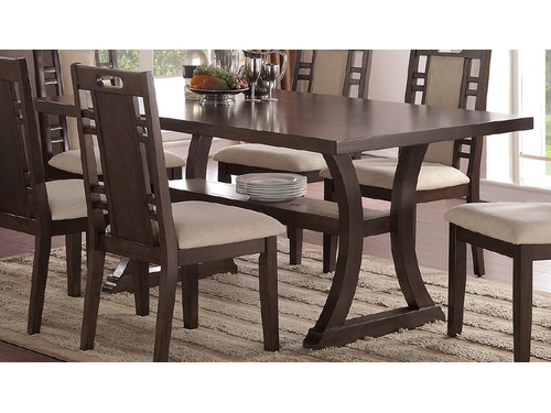 Rubber Wood Dining Table