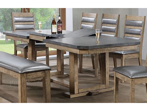 Wood Dining Set In Rustic Wood Shop For Affordable Home Furniture - Affordable reclaimed wood dining table