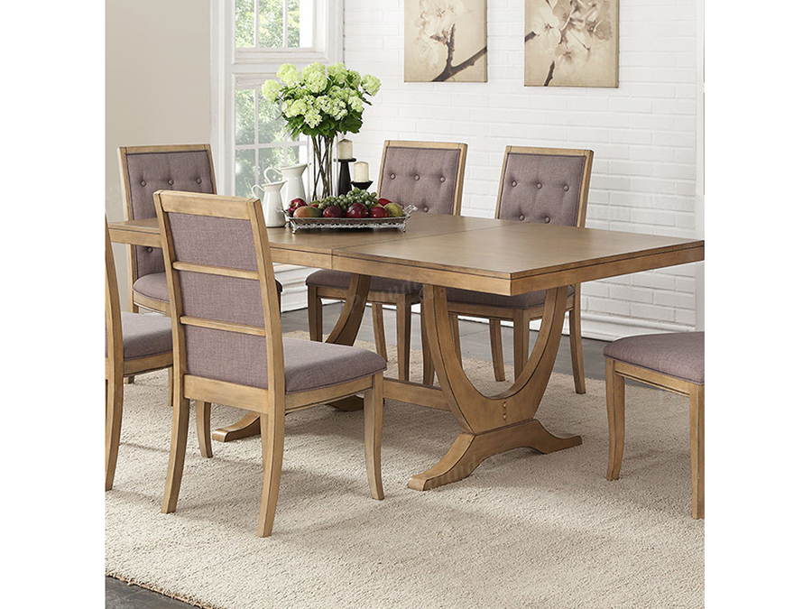 Light Natural Wood Dining Table