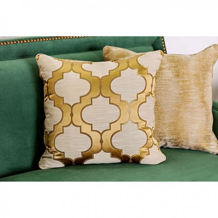 Verdante Emerald Green Sofa Set