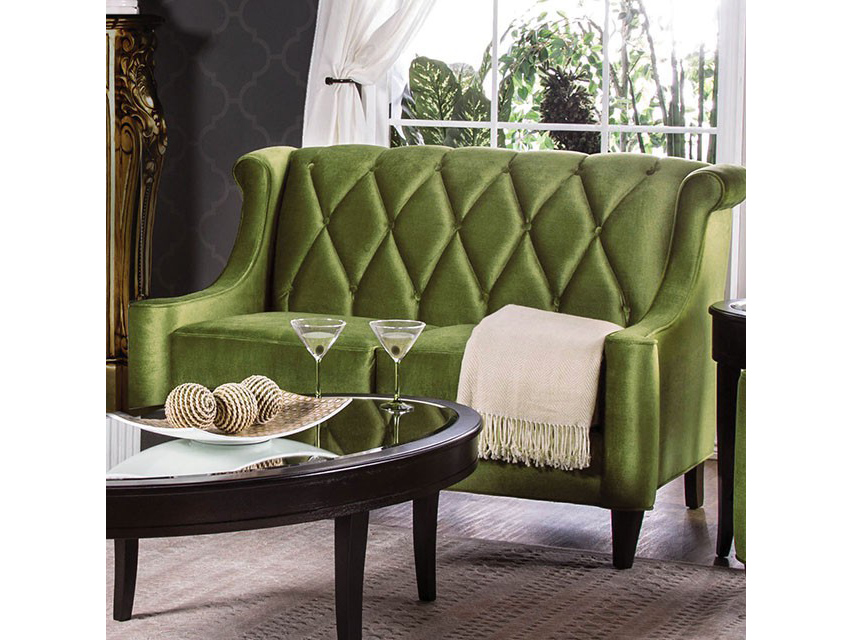 Limerick Love Seat In Green