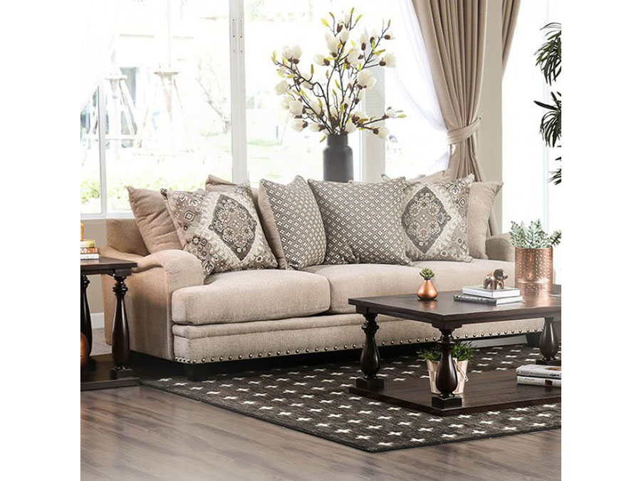 Jaylinn Light Brown Sofa Set - Shop for Affordable Home Furniture ...