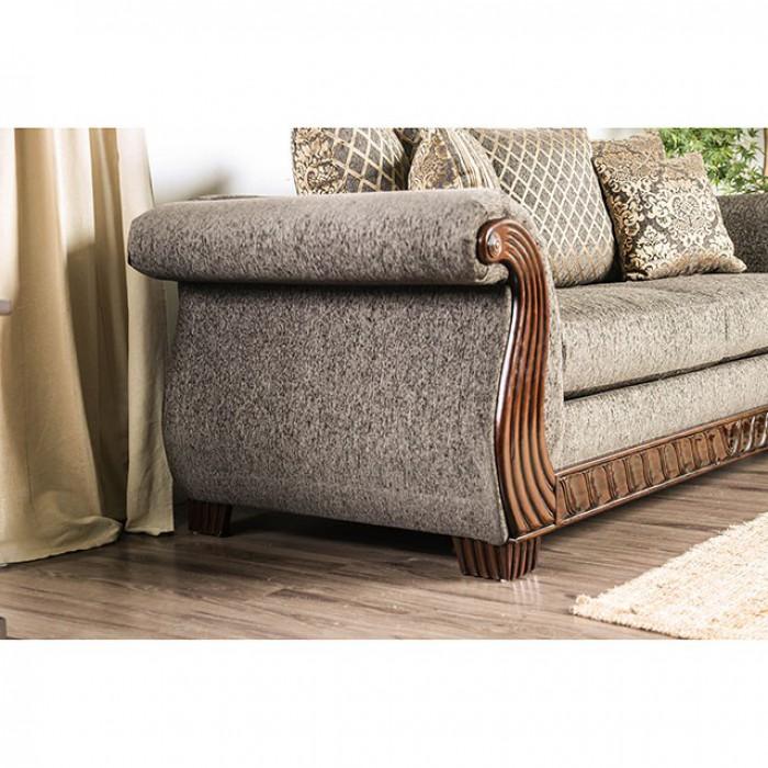 Mikayla Charcoal Sofa Set