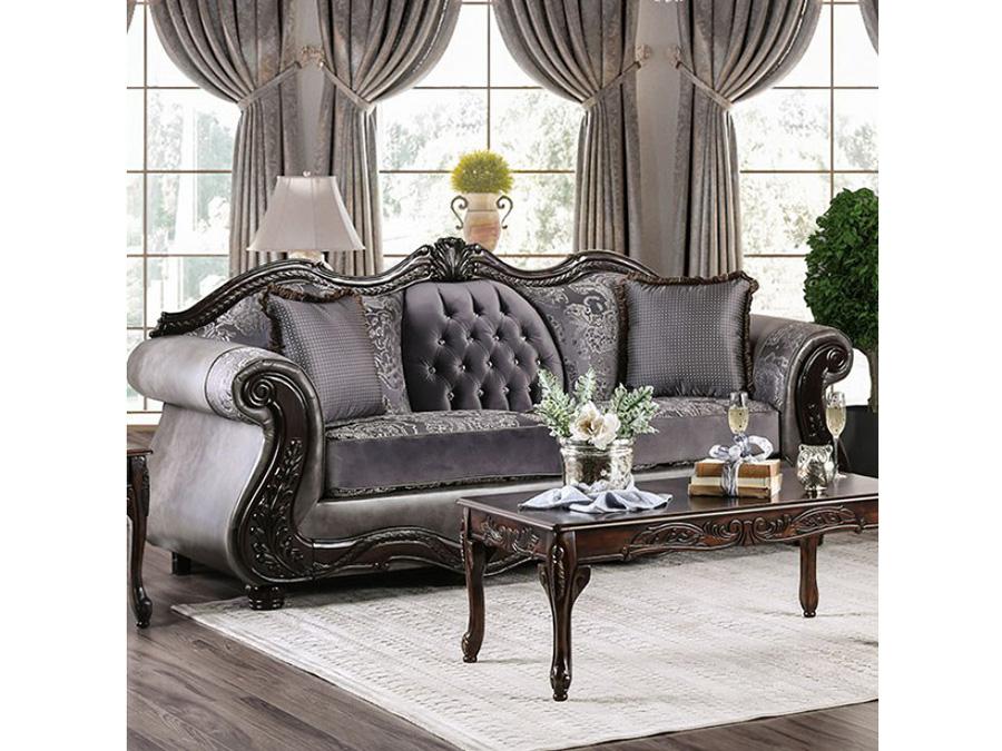 Tabatha Charcoal Sofa