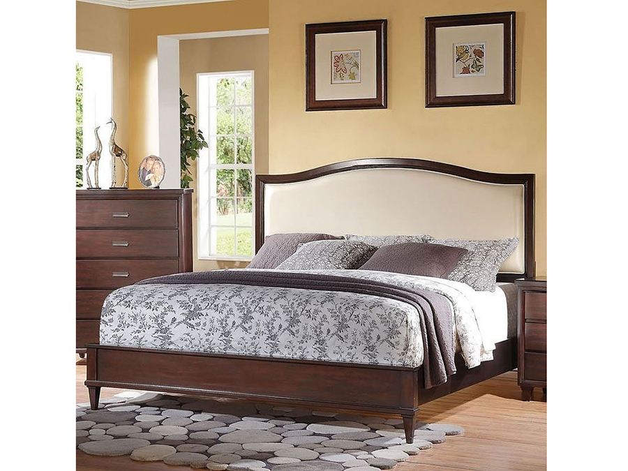 home decor outlet raleigh raleigh e king bed in cherry shop for affordable home 11078