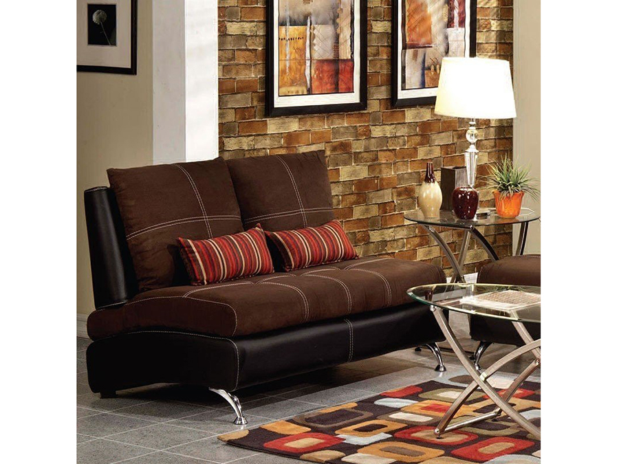 Jolie Chocolate And Black Sofa Set Shop For Affordable Home Furniture Decor Outdoors And More