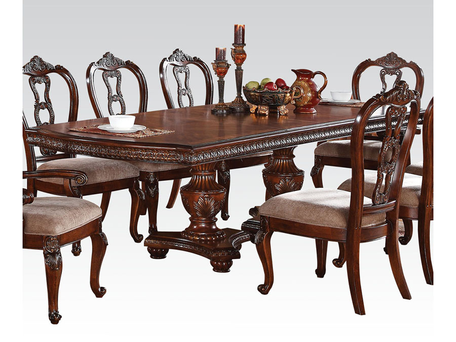 Nathaneal Dining Table in Tobacco