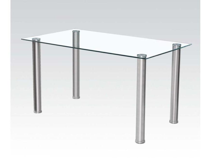 Tremendous Hayden Dining Table In Chrome Ibusinesslaw Wood Chair Design Ideas Ibusinesslaworg