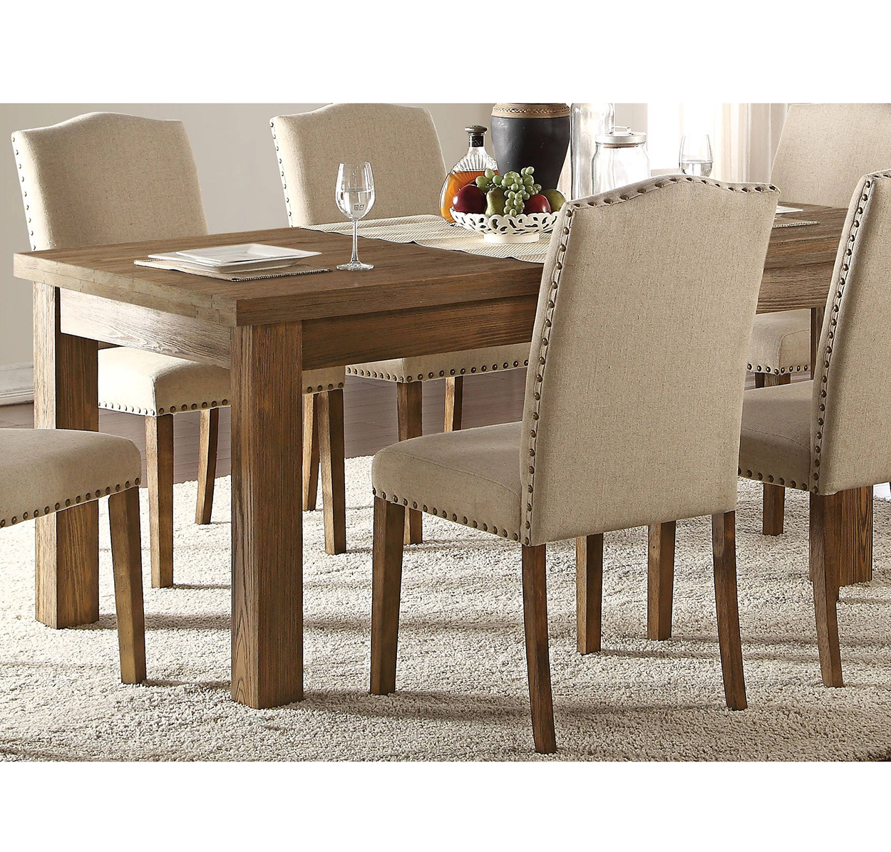 Parker Salvage Oak Dining Table
