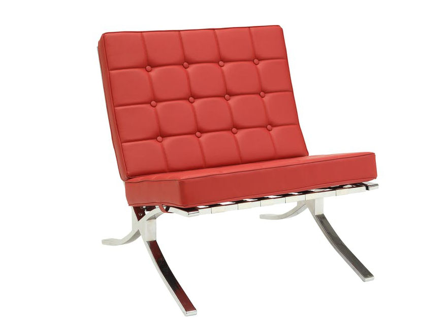 Elian Red Accent Chair