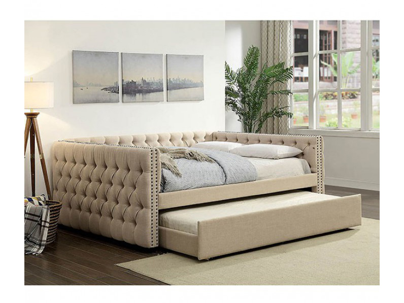 queen size daybed with trundle suzanne daybed in ivory shop for affordable home 7623